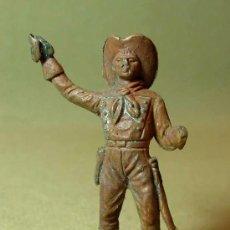 Figuras de Goma y PVC: RARA FIGURA PLASTICO, SEPTIMO 7º, YANKEE, COMANSI, , 7 CM. Lote 15800750