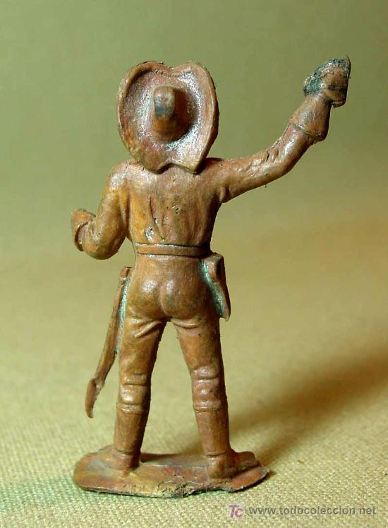 Figuras de Goma y PVC: RARA FIGURA PLASTICO, SEPTIMO 7º, YANKEE, COMANSI, , 7 cm - Foto 2 - 15800750
