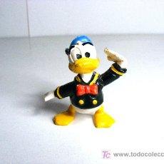 Figuras de Goma y PVC: FIGURA GOMA, PVC, PATO DONALD, WALT DISNEY EURA SPAIN. Lote 21825744