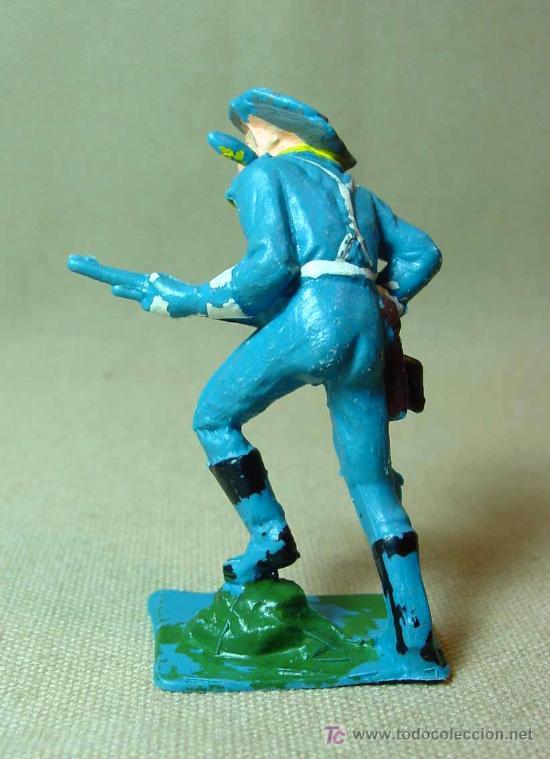 Figuras de Goma y PVC: FIGURA DE PLASTICO, SEPTIMO 7º SOLDADO YANKEE PECH, , 7 cm - Foto 2 - 15857680