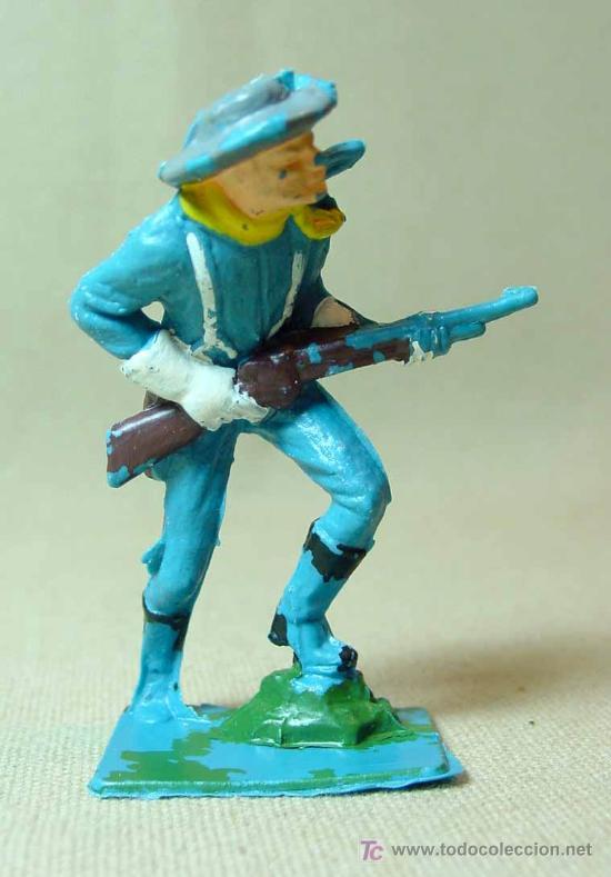 Figuras de Goma y PVC: FIGURA DE PLASTICO, SEPTIMO 7º SOLDADO YANKEE PECH, , 7 cm - Foto 3 - 15857680