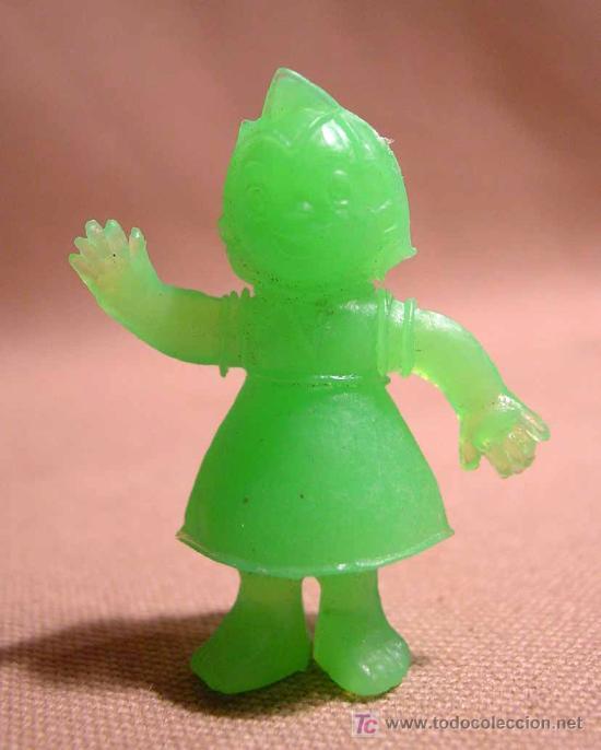 Figuras de Goma y PVC: FIGURA DE PLASTICO, HEIDI, PREMIUM MATUTANO ?, , PHOSKITOS ?, BIMBO ?, 5 cm - Foto 2 - 15893220