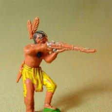 Figuras de Goma y PVC: FIGURA PLASTICO, INDIO, JECSAN. Lote 15956240