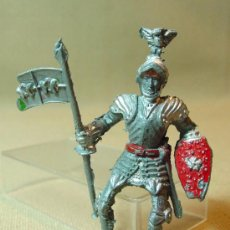 Figuras de Goma y PVC: FIGURA DE PLASTICO, CABALLERO MEDIEVAL, LAFREDO,5,5 CM, . Lote 16172460