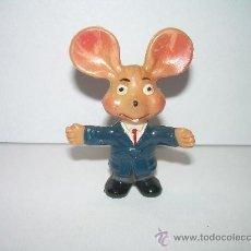 Figuras de Goma y PVC: ANTIGUO TOPO GIGIO AÑOS 50 - 60 PLASTICO DURO. Lote 23292820
