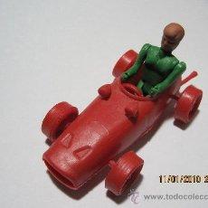 Figuras de Goma y PVC: MONTAPLEX/ MONTAMAN/ BOLIDOS FORMULA 1/ NUMERO 19/ AÑOS 70 Y 80-SOBRE SORPRESA. Lote 16893783