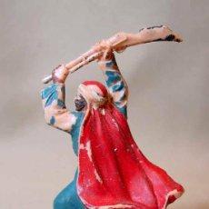 Figuras de Goma y PVC: FIGURA EN PLASTICO, ARABE, CORRESPONDIENTE A LA CAJA DE LAWRENCE HEROE DE ARABIA., REAMSA, . Lote 17080446