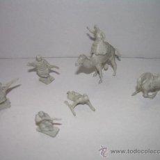 Figuras de Goma y PVC: ANTIGUAS SOLDADOS DE PLASTICO (ARABES). Lote 17082941