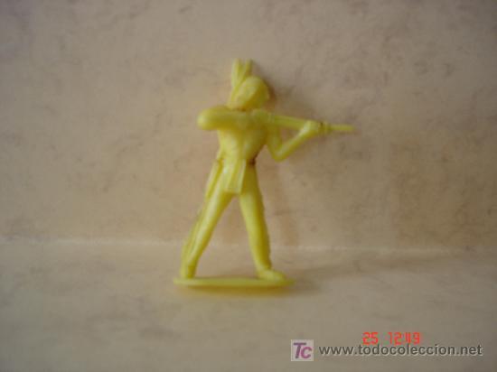 INDIO - COMANSI - (Juguetes - Figuras de Goma y Pvc - Comansi y Novolinea)