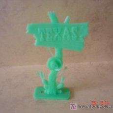 Figuras de Goma y PVC: ANUNCIO TEXAS - PLASTICO -. Lote 17484541