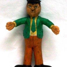 Figuras de Goma y PVC: EL GORDO OLIVER HARDY DE FLEXI FLEXY VICMA AÑOS 80 EN GOMA FLEXIBLE. Lote 17234821
