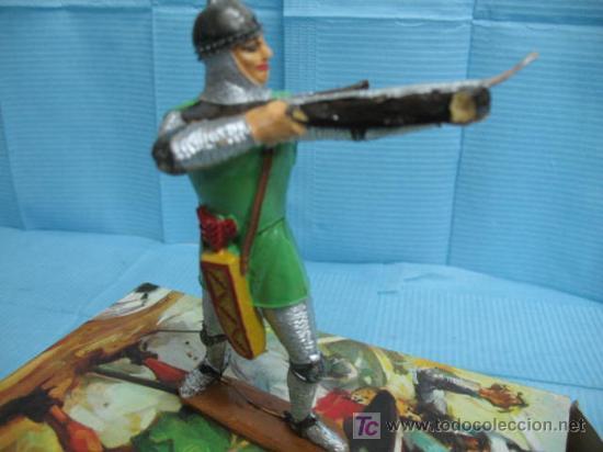 Figuras de Goma y PVC: (COMANSI) caja con SOLDADO CON ARCO - Foto 2 - 17625997