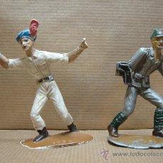 Figuras de Goma y PVC: SOLDADO X2 JAPONES E INDU Nº 1034 1027 - COMANSI - INCOMPLETOS . Lote 27418499