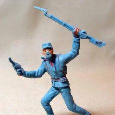 Figuras de Goma y PVC: FIGURA PLASTICO, SOLDADO YANKEE, JECSAN, , . Lote 17717599