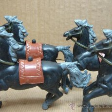 Figuras de Goma y PVC: 4 CABALLO S DE GOMA - PECH REAMSA JECSAN ETC ..... -. Lote 25211364