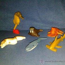 Figuras Kinder: FIGURAS HUEVOS SORPRESA NO KINDER ANIMALES MARINOS. Lote 26453578
