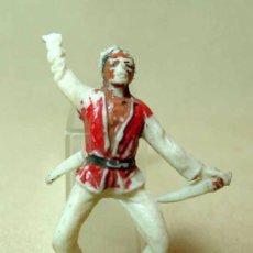 Figuras de Goma y PVC: FIGURA PLASTICO, INDIO, JECSAN, , . Lote 18526597