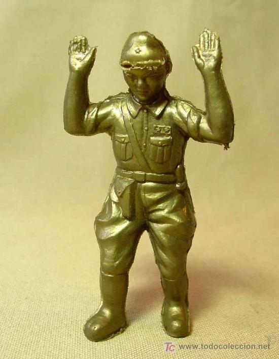 RARA FIGURA DE PLASTICO, PIPERO ?, SOLDADO JAPONES, JAPO, JAPON, WW2, NO MAIRZA, 1960S (Juguetes - Figuras de Goma y Pvc - Pipero)