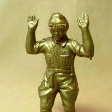 Figuras de Goma y PVC: RARA FIGURA DE PLASTICO, PIPERO ?, SOLDADO JAPONES, JAPO, JAPON, WW2, NO MAIRZA, 1960S. Lote 18551747