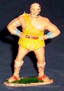 TAURUS DE ESTEREOPLAST - ¡¡MUY RARO!! - AÑOS 60 - SERIE JABATO (Juguetes - Figuras de Goma y Pvc - Estereoplast)