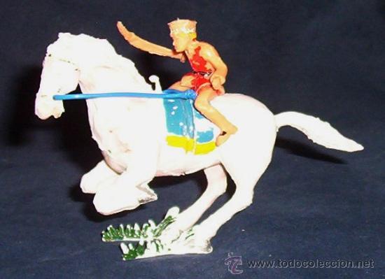 SERIE COSACO VERDE - ESTEREOPLAST - COSACO A CABALLO - AÑOS 60 (Juguetes - Figuras de Goma y Pvc - Estereoplast)