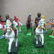 Figuras de Goma y PVC: LOTE DE FIGURAS ANTIGUAS DE ACCION (PLASTICO). Lote 21846513
