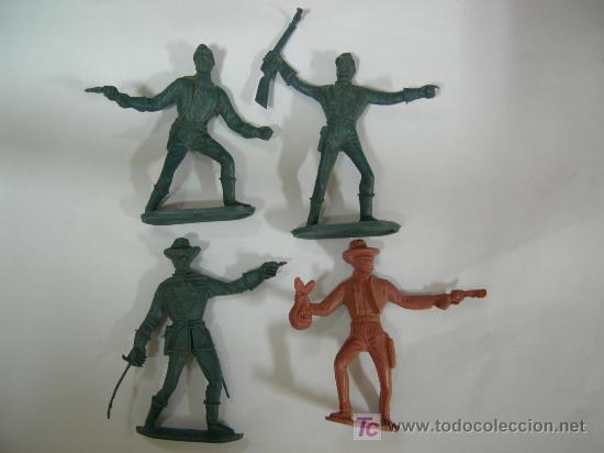 LOTE DE 4 FIGURAS COMANSI (Juguetes - Figuras de Goma y Pvc - Comansi y Novolinea)