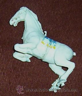 CABALLO ESTEREOPLAST - SOBRE DOS PATAS - AÑOS 60 (Juguetes - Figuras de Goma y Pvc - Estereoplast)