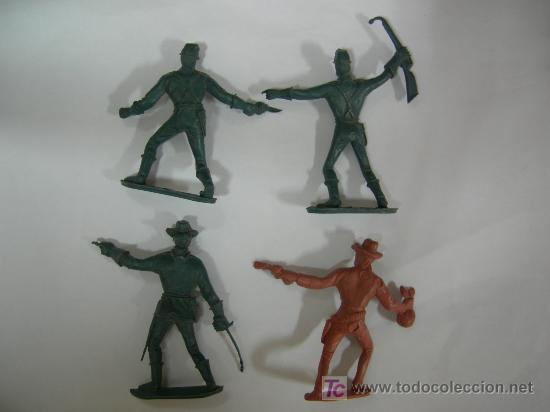 Figuras de Goma y PVC: lote de 4 figuras comansi - Foto 2 - 18992138