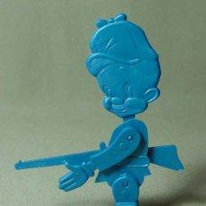 Figuras de Goma y PVC: PREMIUM DETERGENTE OMO, FIGURA DE PLASTICO, ARTICULADO, 1960S. Lote 19444701