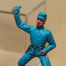 Figuras de Goma y PVC: FIGURA DE PLASTICO, SOLDADO YANKEE, 7º, SEPTIMO, JECSAN, . Lote 19814573