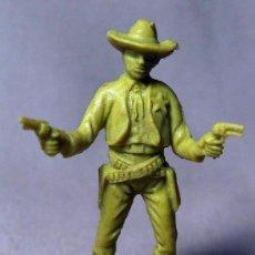 Figuras de Goma y PVC: FIGURA PLASTICO, PIPERO, VAQUERO, COW BOY, SHERIFF, 1980S. Lote 19945526
