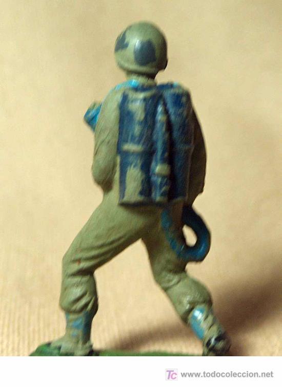 Figuras de Goma y PVC: FIGURA DE GOMA, MARINE, SOLDADO AMERICANO, FABRICADO POR JECSAN, - Foto 2 - 25936907