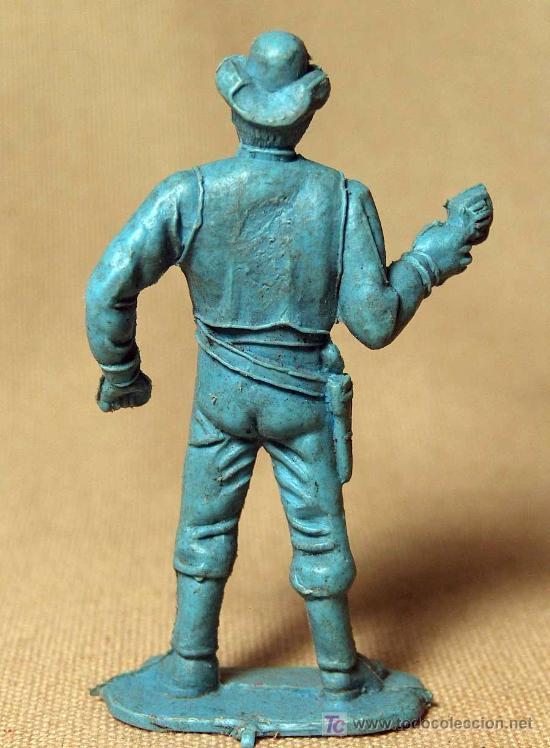 Figuras de Goma y PVC: FIGURA PLASTICO, PIPERO, VAQUERO, COW BOY, HOSS, SERIE BONANZA, 1980s - Foto 2 - 19945558