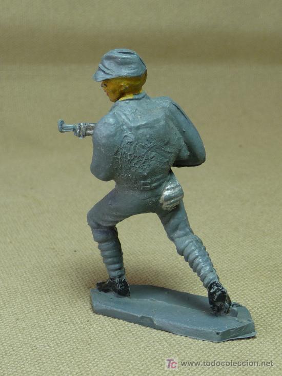 Figuras de Goma y PVC: FIGURA DE PLASTICO, SOLDADO OFICIAL JAPONES, FABRICADO POR COMANSI - Foto 2 - 29111855