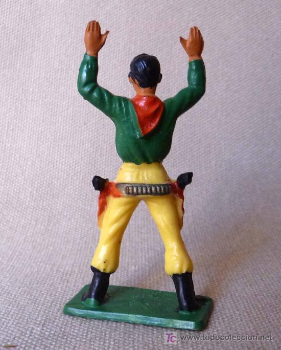 Figuras de Goma y PVC: FIGURA DE PLASTICO, COW BOY, VAQUERO, FABRICADO POR STARLUX, , 1960s, FRANCIA - Foto 2 - 20134895