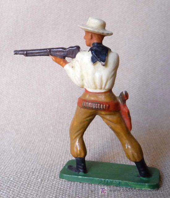Figuras de Goma y PVC: FIGURA DE PLASTICO, COW BOY, VAQUERO, FABRICADO POR STARLUX, , 1960s, FRANCIA - Foto 2 - 20134862