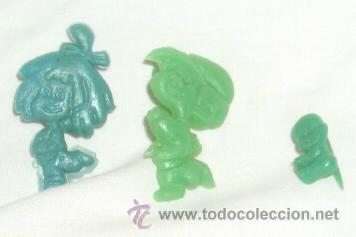 LA FAMILIA TELERÍN EN PLÁSTICO,AÑOS 60 (Juguetes - Figuras de Goma y Pvc - Otras)