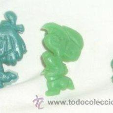 Figuras de Goma y PVC: LA FAMILIA TELERÍN EN PLÁSTICO,AÑOS 60. Lote 20187221