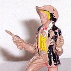 Figuras de Goma y PVC: FIGURA PLASTICO VAQUERO COW BOY - CHULO DE LA SERIE GRAN CAÑON DE COMANSI - FUERTE- NO PECH 1970S. Lote 26630057