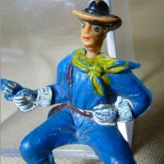 Figuras de Goma y PVC: FIGURA DE PLASTICO, SOLDADO YANKEE, SERIE DESCABEZADO, JECSAN, , 1960S. Lote 20632441