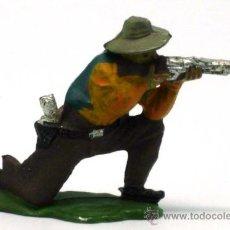 Figuras de Goma y PVC: VAQUERO RODILLAS REAMSA GOMA AÑOS 50. Lote 20669295