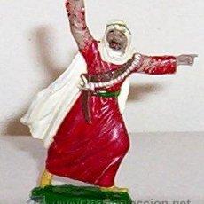 Figuras de Goma y PVC: FIGURA ARABE EN GOMA - ORIGINAL REAMSA - AÑOS 60. Lote 27525618