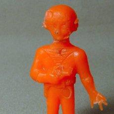 Figuras de Goma y PVC: PREMIUM DETERGENTES TERIN FIGURA DE PLASTICO ROBOT ESPACIO 7 CM MEGA RARO . Lote 25485622