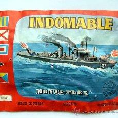 Figuras de Goma y PVC: SOBRE MONTAPLEX Nº 435 BUQUE DE GUERRA INDOMABLE - SOBRE CERRADO. Lote 57241409