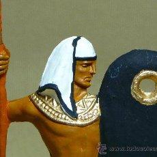 Figuras de Goma y PVC: FIGURA PLASTICO, EGIPCIO, FUSILADO DE JECSAN, PINTADO A MANO, 7 CM. Lote 21800074