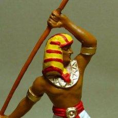 Figuras de Goma y PVC: FIGURA PLASTICO, EGIPCIO, FUSILADO DE JECSAN, PINTADO A MANO, 7 CM. Lote 21800117