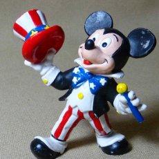 Figuras de Goma y PVC: MUÑECO MICKEY MOUSE, 1989, WALT DISNEY, ALEMANIA, BULLY, MEDIDAS: 8 CM. Lote 21710433
