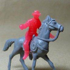Figuras de Goma y PVC: FIGURA DE PLASTICO, COW BOY, VAQUERO, MINI OESTE, MINI COMANSI, COMANSI, 1970S. Lote 21729411