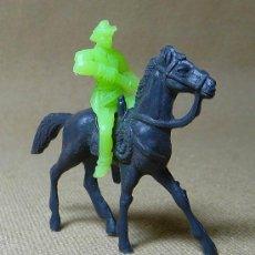 Figuras de Goma y PVC: FIGURA DE PLASTICO, COW BOY, VAQUERO, MINI OESTE, MINI COMANSI, COMANSI, 1970S. Lote 21729458